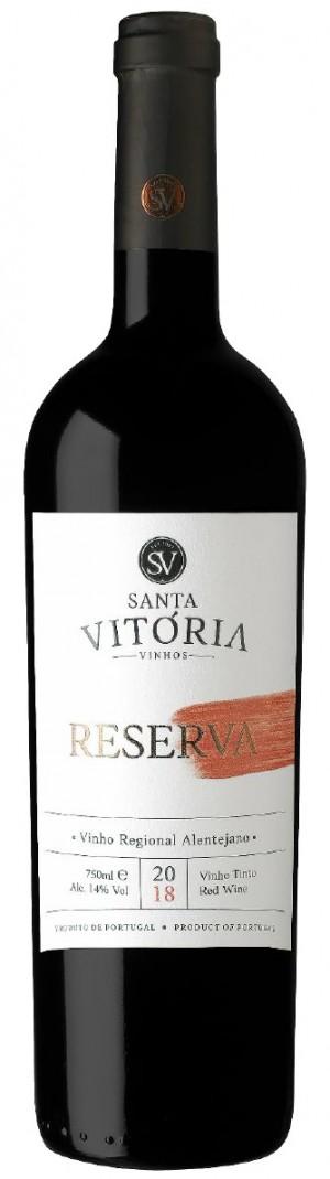 Portugalské červené víno Santa Vitoria Reserva Tinto na eshopu vína z Portugalska