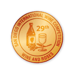 29th San Diego International Wine Competition – Gold