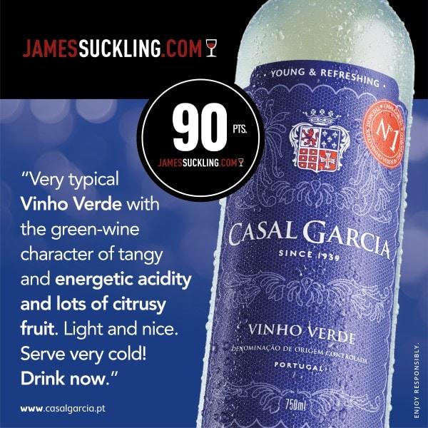 Portugalské víno Casal Garcia Branco Vinho Verde na eshopu vína z Portugalska