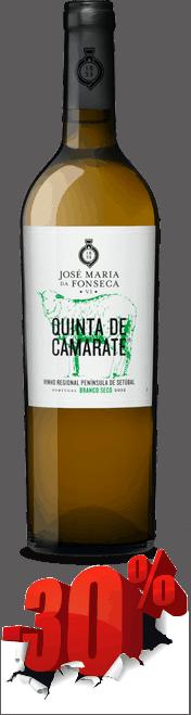 Portugalské víno Quinta De Camarate Branco Seco 2014 na eshopu vín z Portugalska