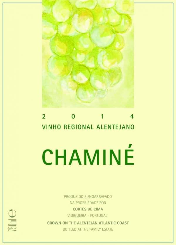 Portugalské bílé víno Chamine na eshopu vína z Portugalska