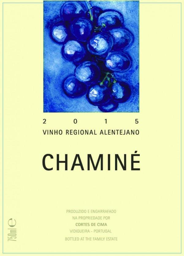 Portugalské víno Cortes de Cima Chamine Tinto na eshopu vína z Portugalska