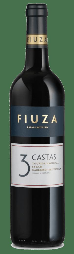 Portugalské víno Fiuza 3 Castas Red na eshopu vín z Portugalska