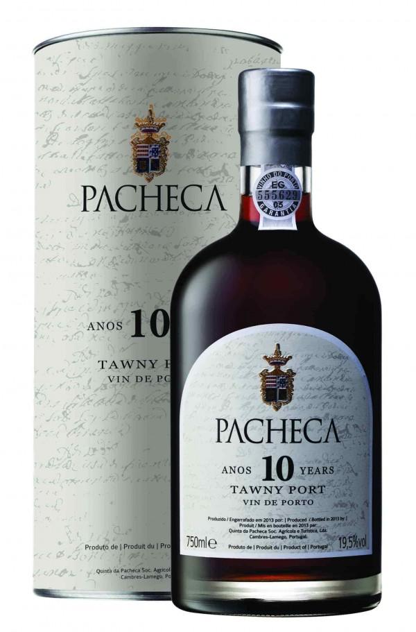 Portugalské víno Pacheca Port Tawny 10 Years na eshopu vín z Portugalska