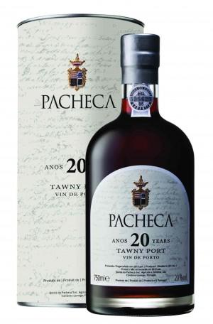 Portugalské víno Pacheca Port Tawny 20 Years na eshopu vín z Portugalska