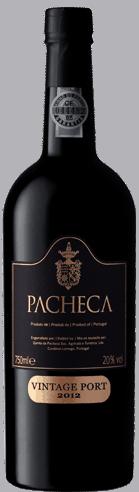 Portugalské víno Pacheca Vintage 2012 Port na eshopu vín z Portugalska