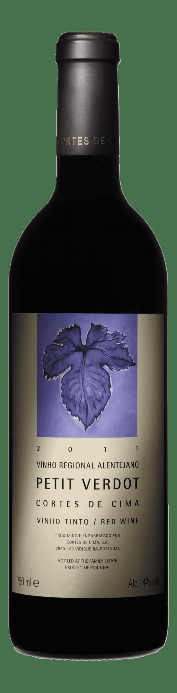 Portugalské víno Cortes de Cima Petit Verdot na eshopu vín z Portugalska