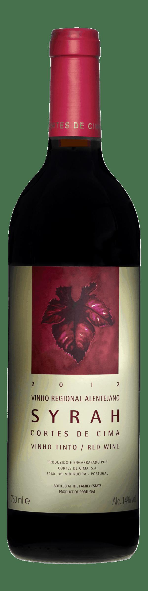 Portugalské víno Cortes de Cima Syrah na eshopu vín z Portugalska