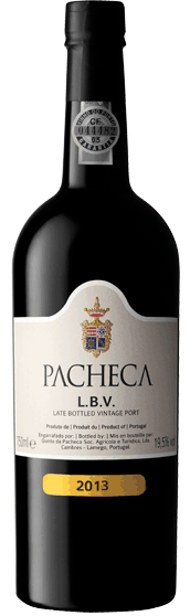 Portugalské víno Quinta Da Pacheca L.B.V. 2013 na eshopu vín z Portugalska