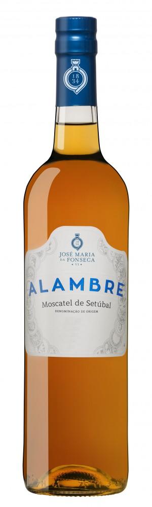 Portugalské fortifikované víno Moscatel Alambre na eshopu vína z Portugalska
