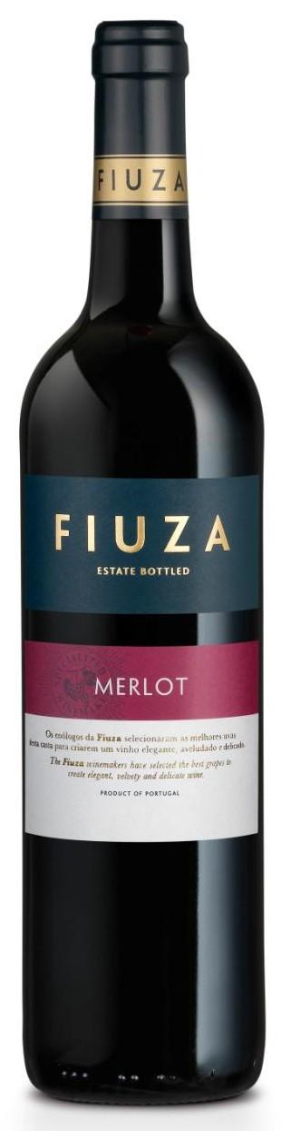 Portugalské červené víno FIUZA Merlot na eshopu vína z Portugalska
