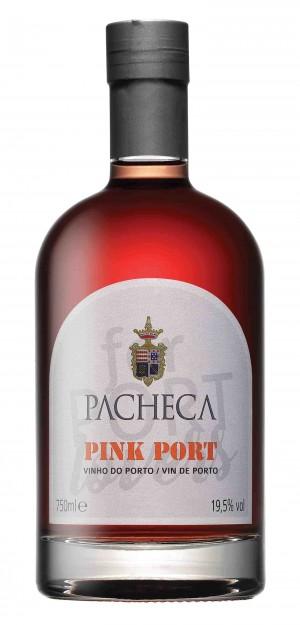 Portugalské víno Pacheca Pink Port na eshopu vín z Portugalska