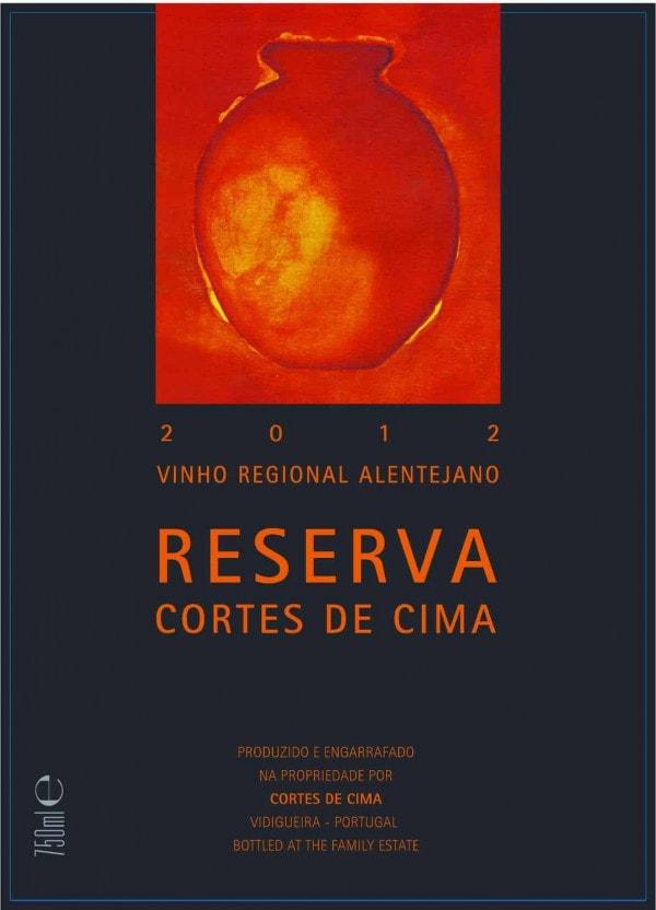 Porugalské červené víno Cortes de Cima Reserva Tinto na eshopu vín z Portugalska