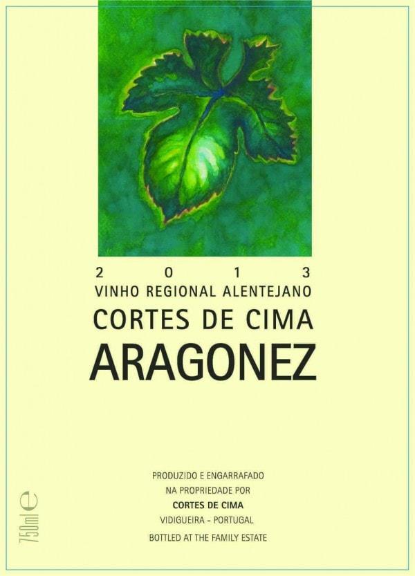 Portugalské červené víno Cortes de Cima Aragonez Tinto na eshopu vín z Portugalska