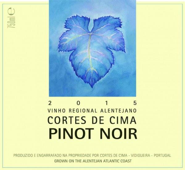 Portugalské víno Cortes de Cima Pinot Noir na eshopu vína z Portugalska