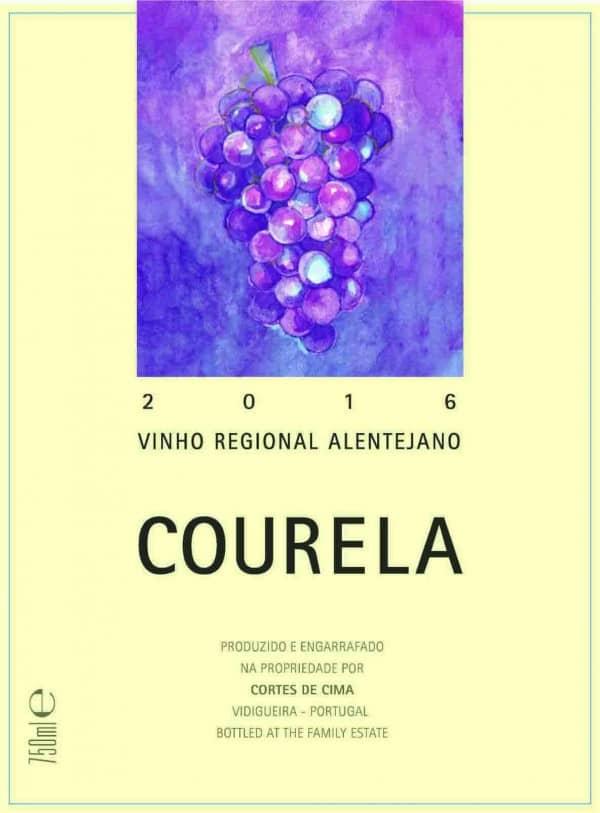 Portugalské červené víno Cortes de Cima Courela Tinto na eshopu vína z Portugalska