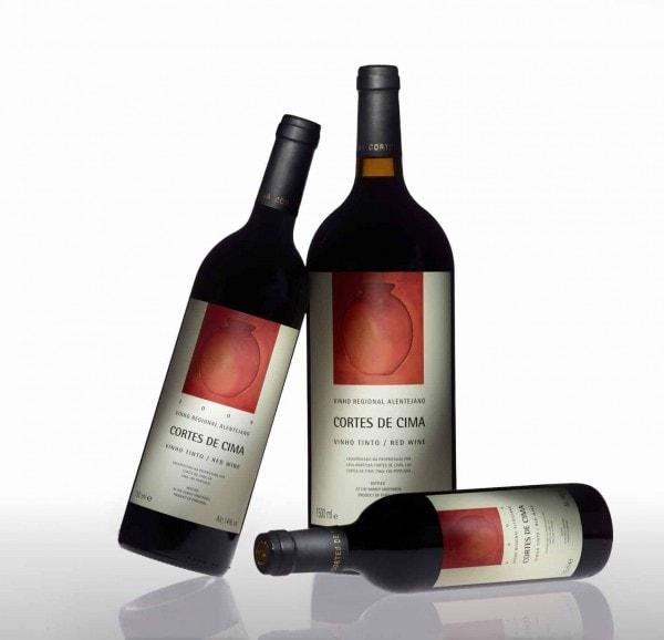 Portugalské červené víno Cortes de Cima Tinto na eshopu vín z Portugalska