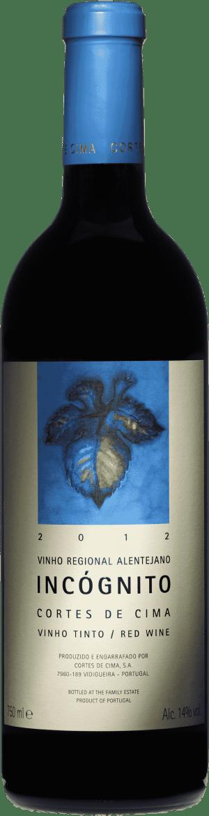 Portugalské víno Cortes de Cima Incógnito na eshopu vín z Portugalska