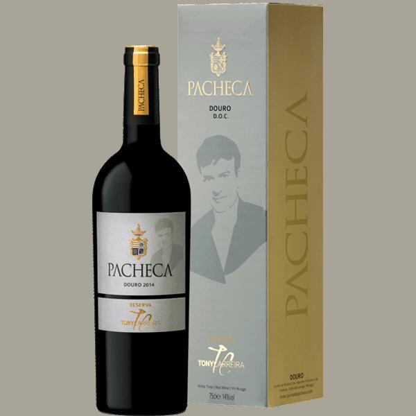 Portugalské víno Pacheca Tony Carreira Reserva na eshopu vín z Portugalska