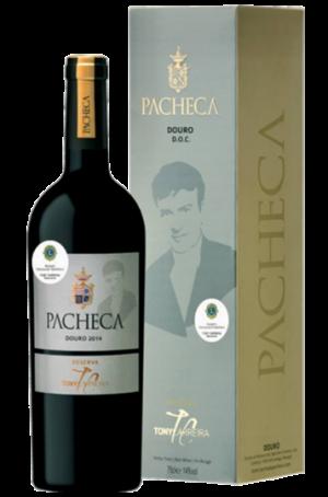 Portugalské víno Pacheca Tony Carreira dárkové balení na eshopu vína z Portugalska