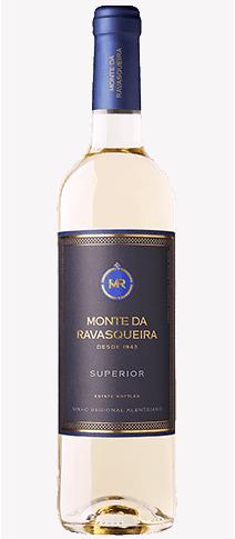 Portugalské víno Monte da Ravasqueira Superior Branco na eshopu vín z Portugalska