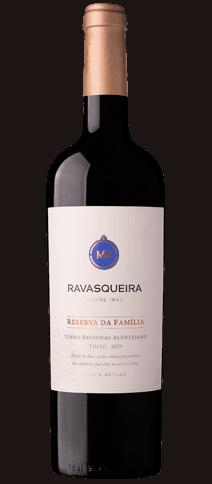 Portugalské víno Monte da Ravasqueira Reserva da Familia Tinto na eshopu vín z Portugalska