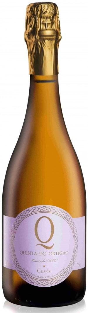 Portugalské víno Quinta do Ortigão Espumante Cuvée Bruto Nature na eshopu vín z Portugalska