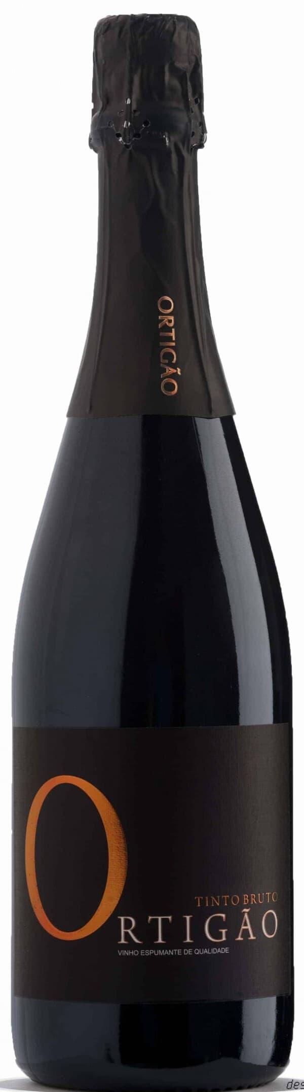Portugalské víno Quinta do Ortigão Espumante Tinto Bruto na eshopu vín z Portugalska