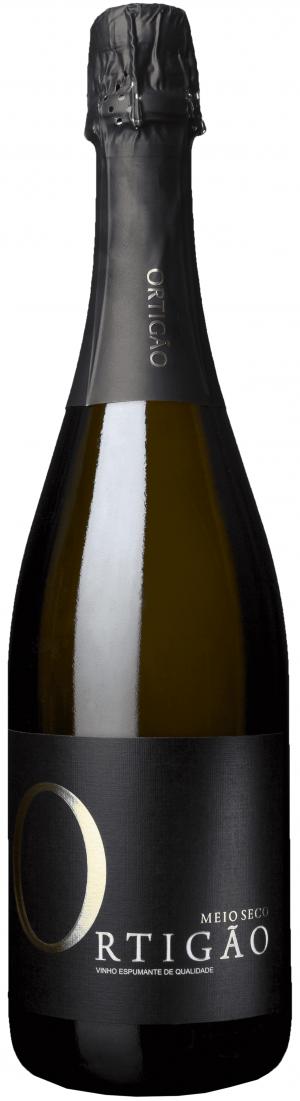 Portugalské víno Quinta do Ortigão Espumante Meio Seco - polosuché na eshopu vín z Portugalska