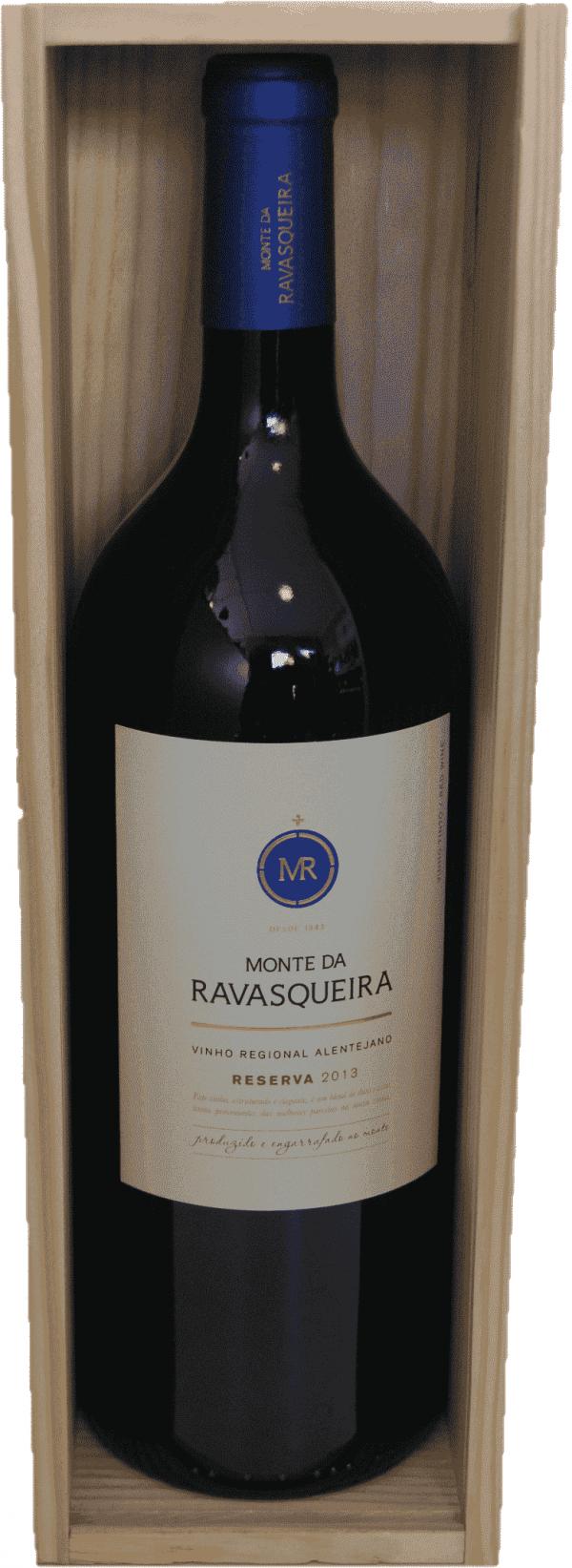 Portugalské červené víno Monte da Ravasqueira Reserva Tinto Magnum 1,5L na eshopu vína z Portugalska