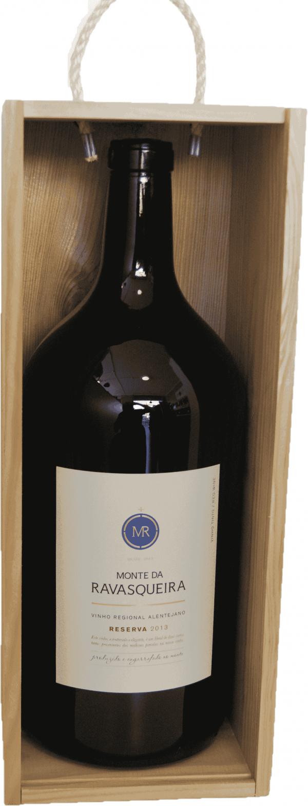 Portugalské červené víno Monte da Ravasqueira Reserva Tinto Magnum 3L na eshopu vín z Portugalska