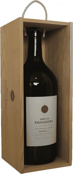 Portugalské červené víno Monte da Ravasqueira Reserva Tinto Magnum 3L na eshopu vína z Portugalska