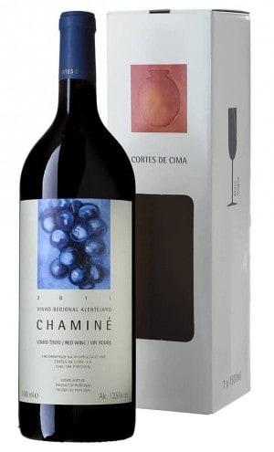 Portugalské víno Cortes de Cima Chaminé Tinto 2014 Magnum 1,5L na eshopu vín z Portugalska2014 Magnum 1,5L