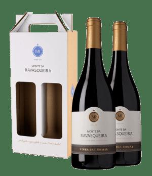 Portugalské víno Monte da Ravasqueira Vinha das Romãs dárkové balení na eshopu vín z Portugalska