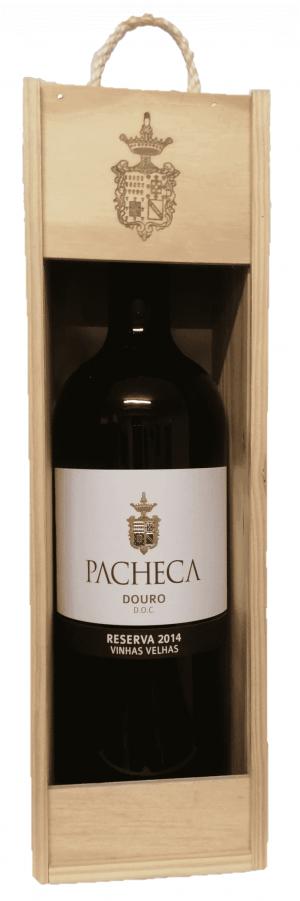 Portugalské červené víno Quinta da Pacheca Reserva Vinhas Velhas Tinto Douro D.O.C. 1,5L na eshopu vín z Portugalska