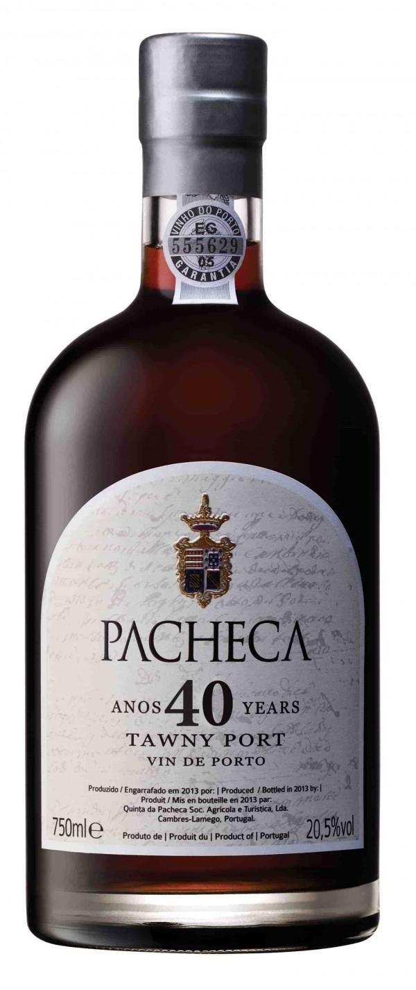 Portské víno Pacheca Port Tawny 40 Years na eshopu vína z Portugalska