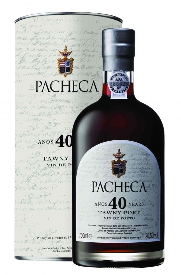 Portugalské víno Pacheca Port Tawny 40 Years na eshopu vín z Portugalska