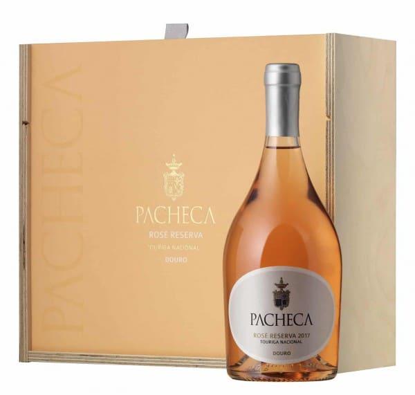 Portugalské víno Pacheca Rosé Touriga Nacional Reserva dárkové balení na eshopu vín z Portugalska