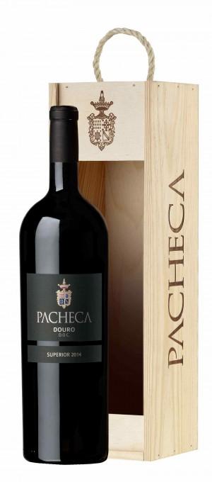 Portugalské víno Pacheca Superior Tinto Douro D.O.C. 1,5L na eshopu vín z Portugalska