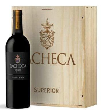 Portugalské víno Pacheca Superior Tinto Douro D.O.C. dárkové balení na eshopu vín z Portugalska