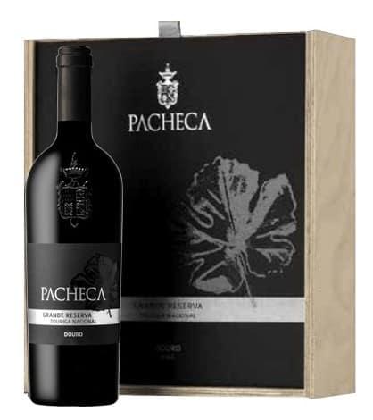 Portugalské víno Pacheca Grande Reserva Touriga Nacional Douro D.O.C. dárkové balení na eshopu vín z Portugalska