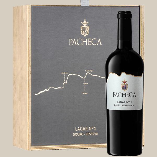 Portugalské víno Pacheca Lagar Nº1 Rererva Douro D.O.C. dárkové balení na eshopu vín z Portugalska