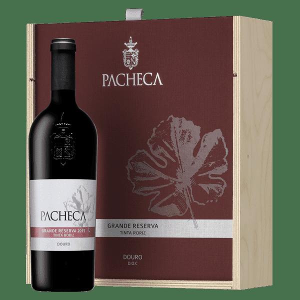 Portugalské víno Pacheca Grande Reserva Tinta Roriz Douro D.O.C. dárkové balení na eshopu vín z Portugalska
