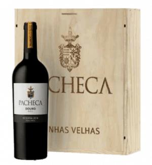 Portugalské víno Pacheca Reserva Vinhas Velhas Tinto Douro D.O.C. na eshopu vín z Portugalska