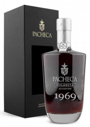 Portské víno Pacheca Porto Colheita Single Harvest Tawny 1969 na eshopu vín z Portugalska