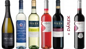 Portugalské víno Sada Basic 5 + 1 Dárek na eshopu vín z Portugalska