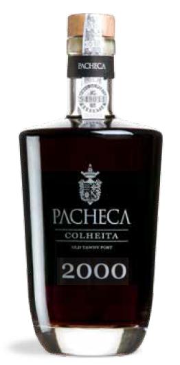 Portugalské portské víno Pacheca Porto Colheita Single Harvest Tawny 2000 na eshopu vína z Portugalska