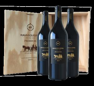 Portugalské víno dárkové balení Monte da Ravasqueira Premium Touriga Nacional na eshopu vína z Portugalska