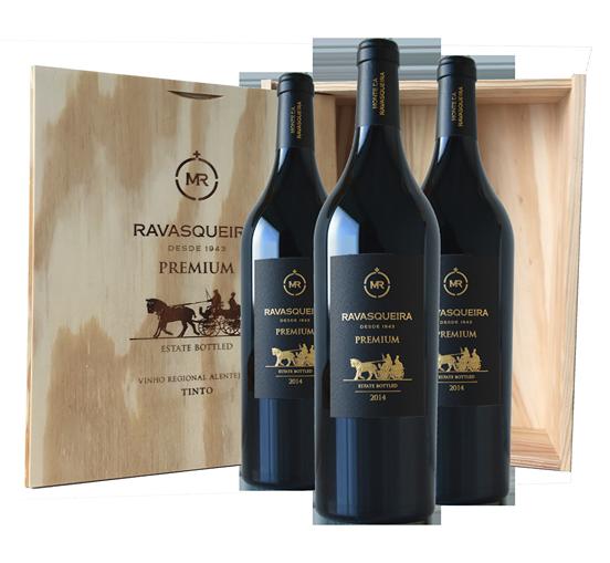 Portugalské víno Monte da Ravasqueira Premium Touriga Nacional