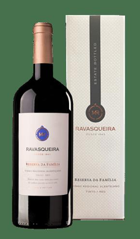 Portugalské červené víno Monte da Ravasqueira Reserva da Familia Tinto Magnum na eshopu vína z Portugalska